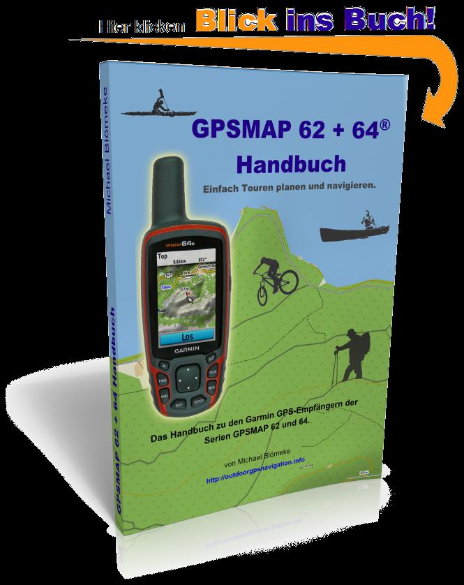 GPSMAP 62 und 64 Handbuch gratis Leseprobe - hier klicken