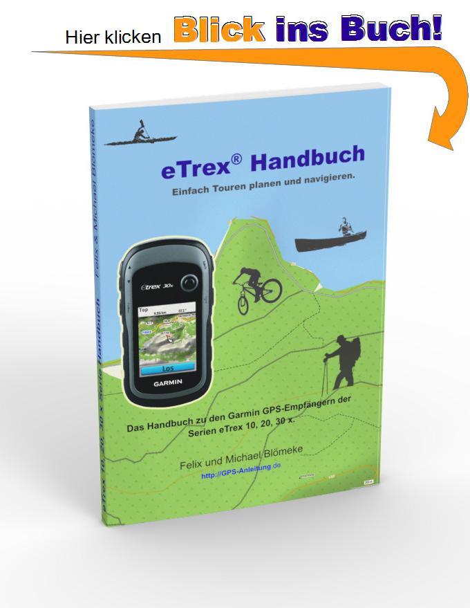 eTrex Handbuch gratis Leseprobe - hier klicken