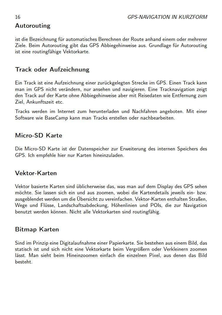 eTrex Anleitung Handbuch S16