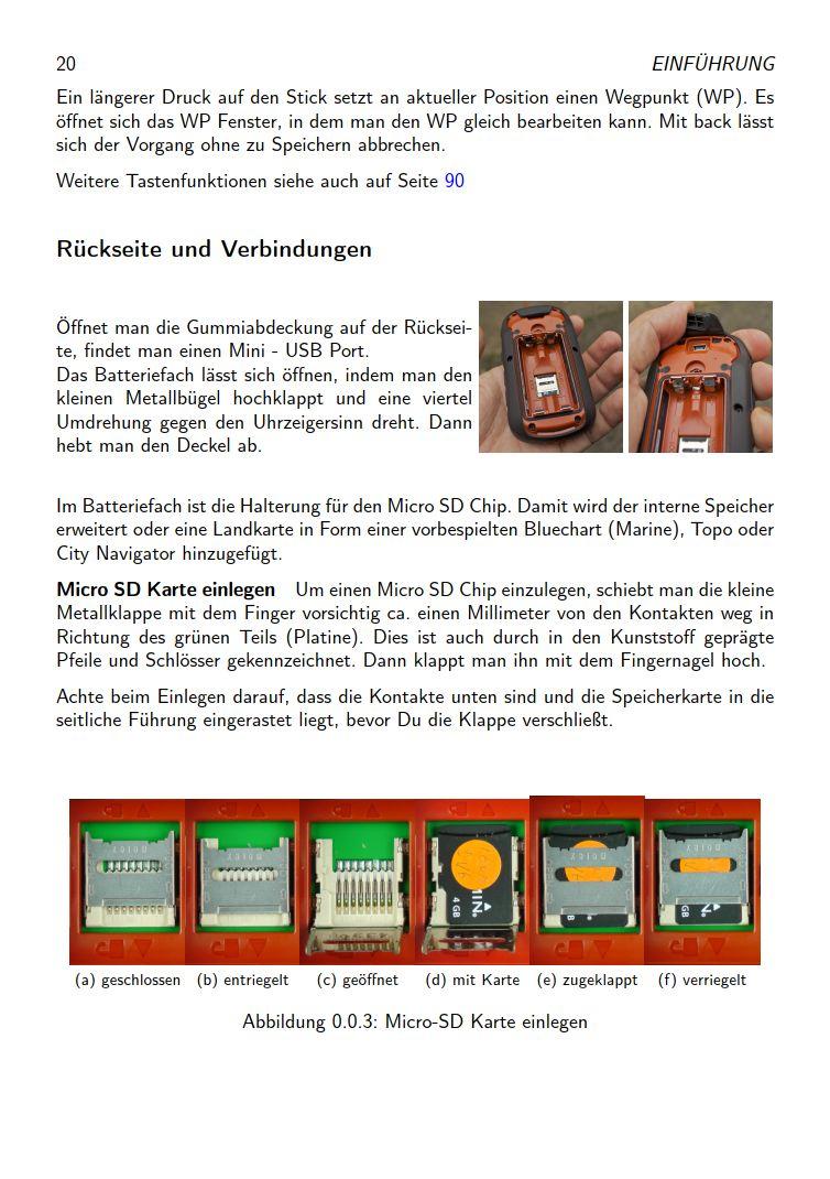 eTrex Anleitung Handbuch S20