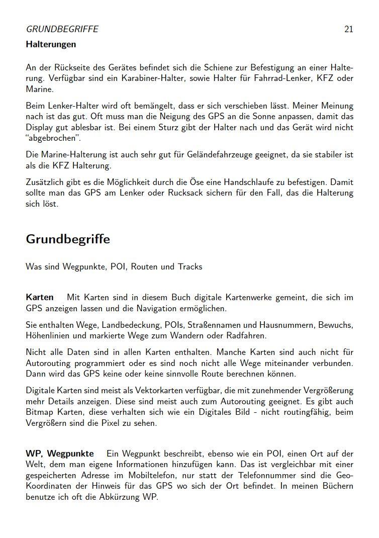 eTrex Anleitung Handbuch S21