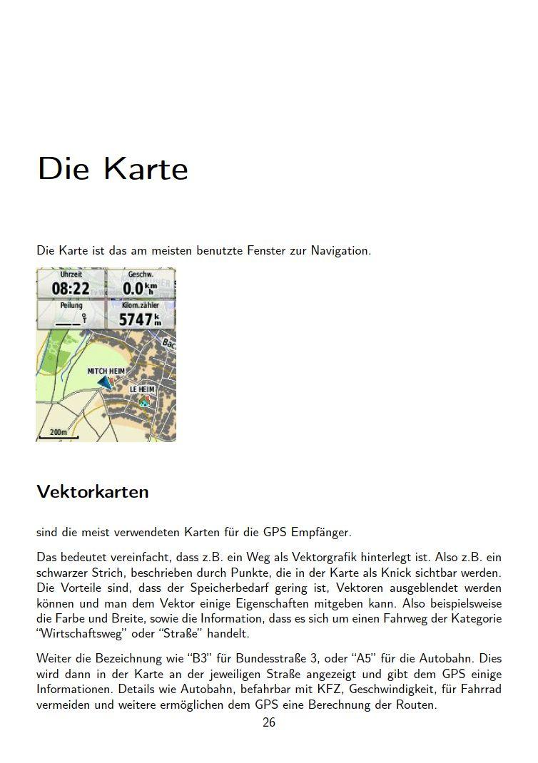 eTrex Anleitung Handbuch S26
