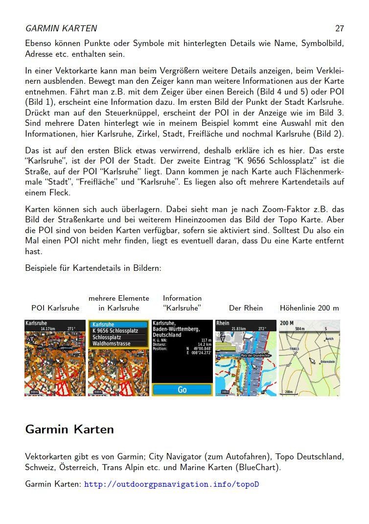 eTrex Anleitung Handbuch S27
