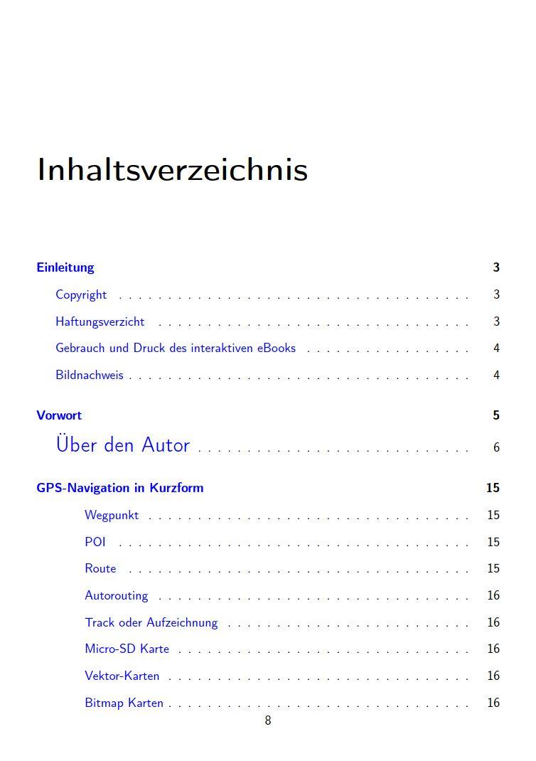 eTrex Handbuch Anleitung Inhalt 1